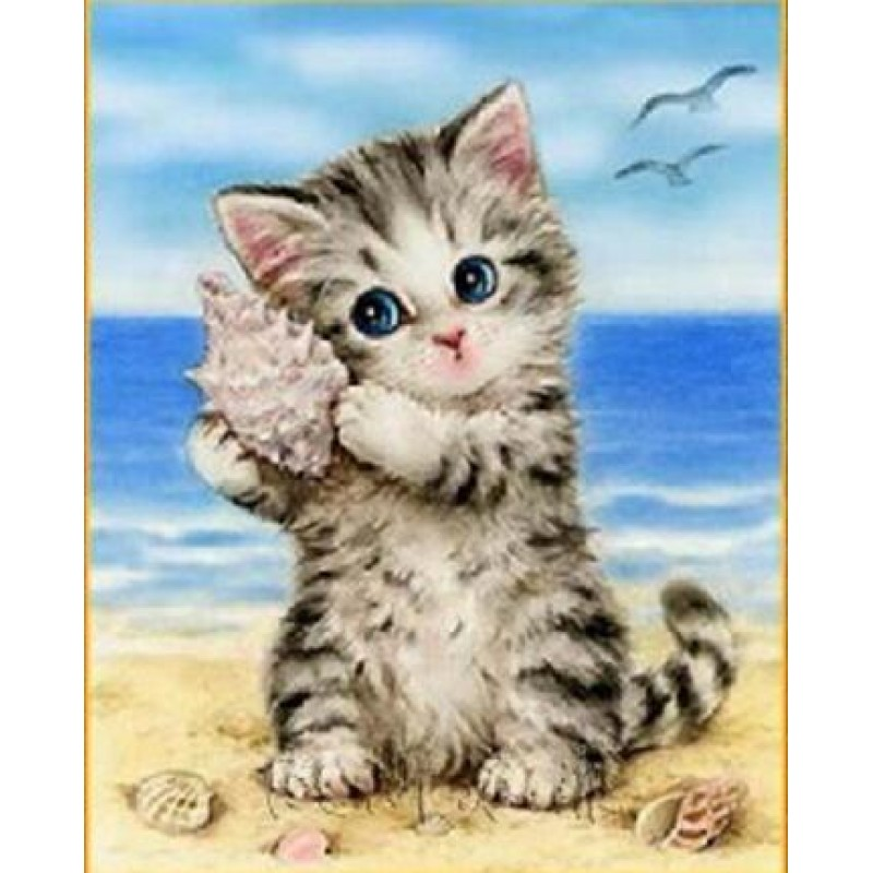 Cute Kitten And Conc...