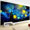 2019 New Large Size Abstract Sky Space 5d Diy Diamond Painting Kits UK VM9703