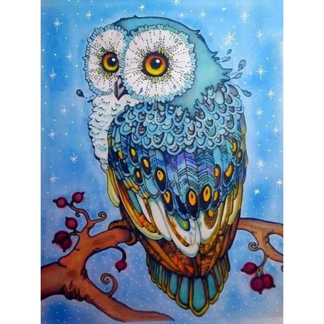2019 Cheap Special Cute Owl Picture 5d Diy Diamond Painting Kits UK VM82504