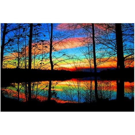Sunset 5d Diy Diamond Painting Kits UK KN80144