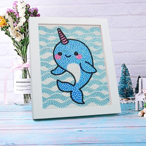 DIY Special Drill Diamond Painting for Kids With Frame KID90045