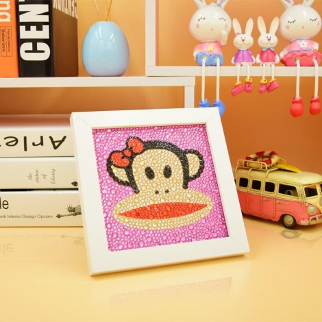 DIY Special Drill Diamond Painting for Kids With Frame KID90043