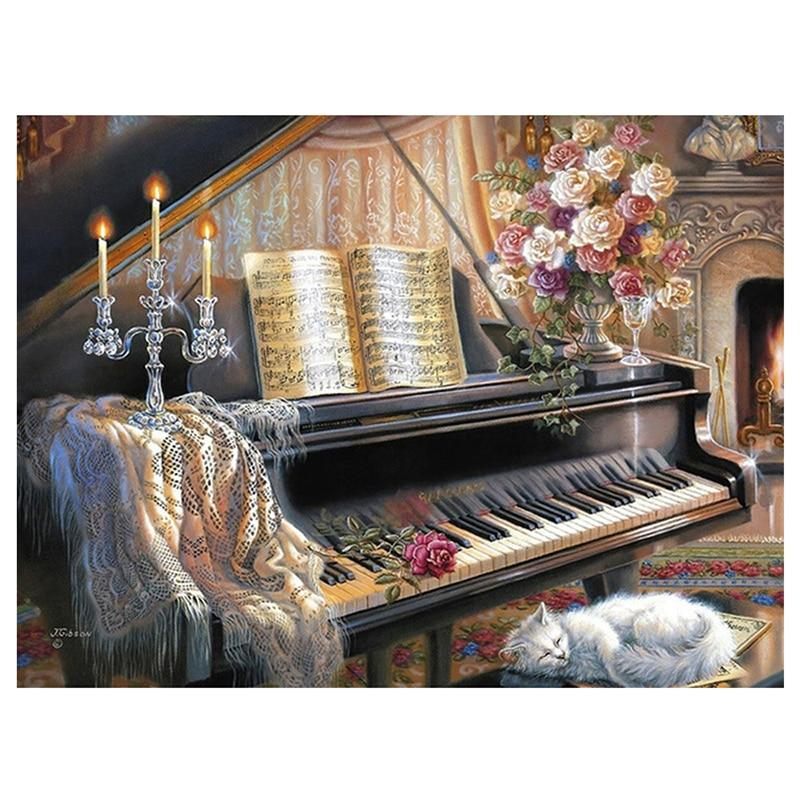 Cat And Piano Full D...