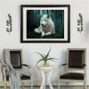 Best Special Wolf Picture Diy 5d Full Diamond Painting Kits UK QB6202