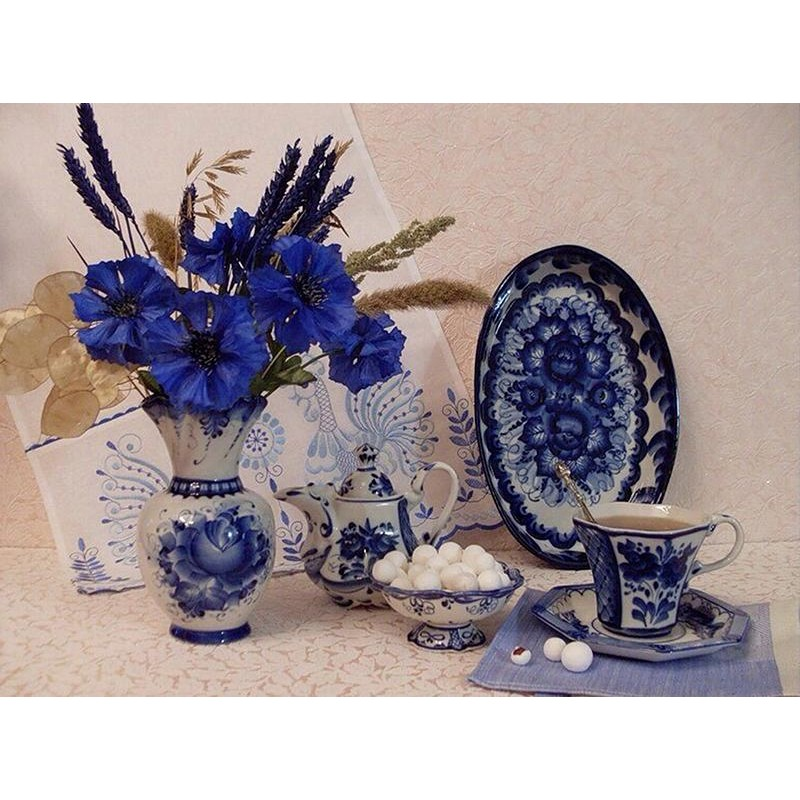 Blue And White Porce...