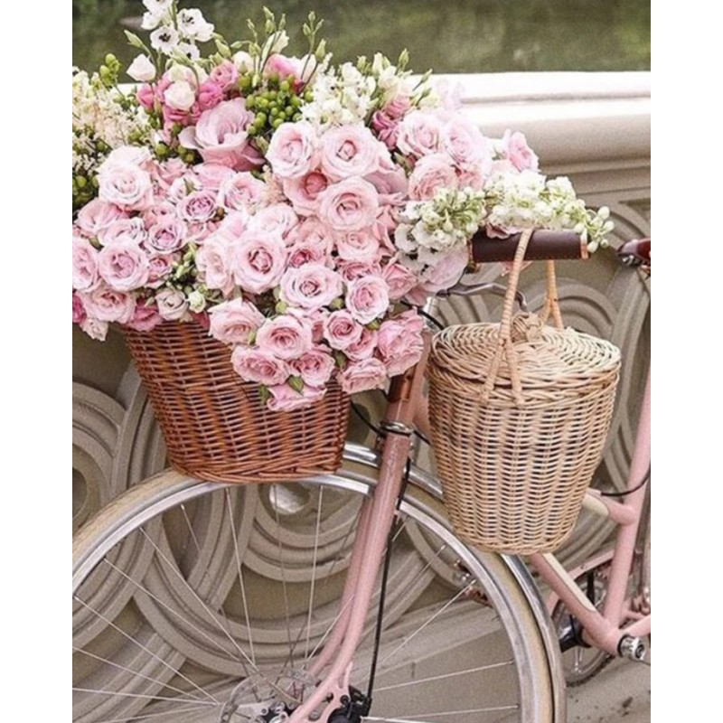 Bicycle Flower Full ...