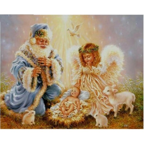 Angel Wings Winter Home Decor 5d Diy Diamond Painting Kits UK VM9237