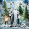 2019 Special Style Full Drill Santa Claus 5d Diy Diamond Painting Kits UK NA0360