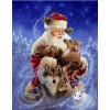 2019 Hot Sale Santa Christmas 5D Diy Diamond Painting Kits UK VM7577
