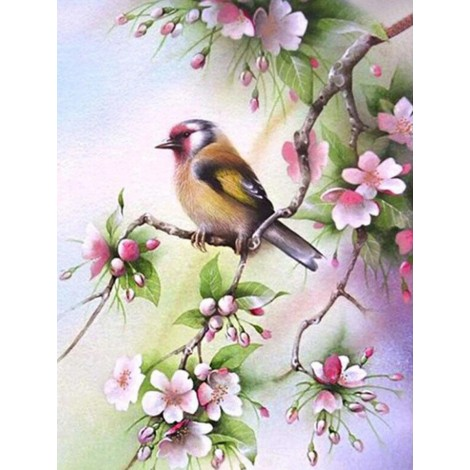 Birds Flowers Patterns Hot 2019 New 5d Diy Diamond Painting Kits UK VM9868