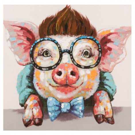 New Arrival Hot Sale Pig 5D Diy Embroidery Cross Stitch Diamond Painting Kits UK NA0342