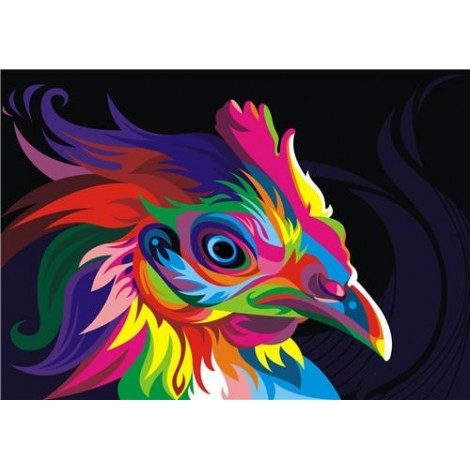 Hot Sale Special Colorful Cock 5d Diy Diamond Painting Kits UK VM4185
