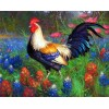New Arrival Hot Sale Cock 5D Diy Cross Stitch Diamond Painting Kits UK NA0267