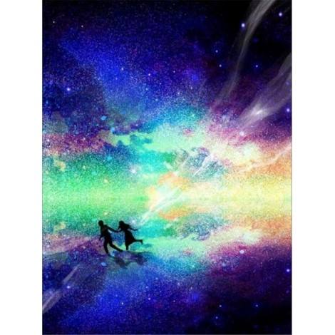 2019 Dream Gift Colorful Starry Sky 5d Diy Diamond Painting Kits UK VM7832