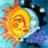 Special Sun And Moon Pattern Mosaic Cross Stitch VM92341