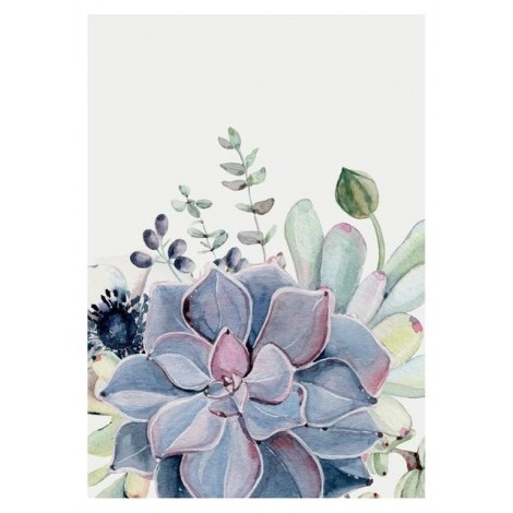 Best Watercolor Cactus 5D Diy Embroidery Cross Stitch Diamond Painting Kits UK NA0356
