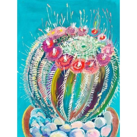 2019 Special Cactus 5D Diy Embroidery Cross Stitch Diamond Painting Kits UK NA00353