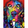 Special Colorful Dog Bedazzled 5d Diy Diamond Painting Kits UK VM9530