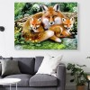 2019 New Hot Sale Mosaic Painting Home Decor Fox DIY Diamond Painting Kits UK VM8291