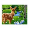 Oil Painting Styles Lovely Woods Deer Diamond Painting Kits UK For kids AF9140